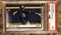 2019 Topps #410 Fernando Tatis Jr. RC Rookie Card San Diego Padres PSA 9 Mint