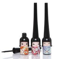 Cute Girl Doll Black Waterproof Eyeliner Liquid Eye Liner Pen Pencil Makeup Tool