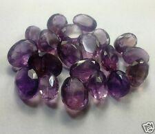117.75 CT 20 Pcs Amethyst 100% Natural A+ Quality Gemstone W548 PL