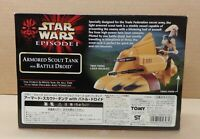 TOMY Japan EP1 Armored Scout Tank Battle Droid Star Wars Episode 1 Foreign RARE