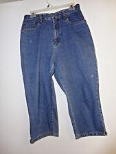 Bill Blass Jeans   Easy Fit Capri   Size 10   100% Cotton