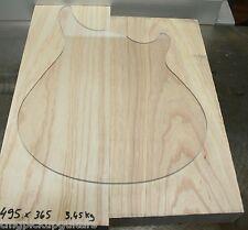TMG US palude frassino Swamp Ash 2 piece Blank piallato non apaticamente ca 44,5 mm