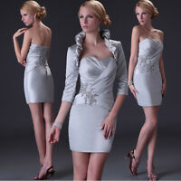 Mother of the bride/groom Dresses Formal Free Jacket Outfit Prom Evening Dresses