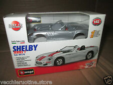 BBURAGO Burago MADE in ITALY  METAL KIT 1/43 SHELBY SERIES 1 die cast