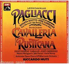 Mascagni, Leoncavallo: Cavalleria Rusticana, Pagliacci / Muti, Caballé, Carre LP