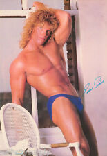 LOT OF 2 POSTERS : EDDIE PERVOT -  SEXY MALE MODEL -  FREE SHIP #2552  LW21 K
