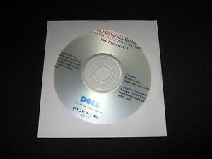 Dell Latitude D600 D800 X300 D400 D505 100L C400  XP Drivers CD DVD Disc