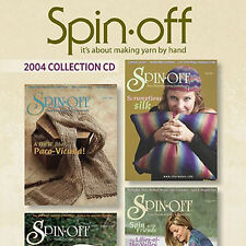 4 Issues on CD: SPIN-OFF MAGAZINE 2004 Spinning Yarn