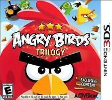 NEW Angry Birds Trilogy Nintendo 3DS 2012 NTSC