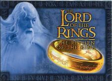 Lord Of The Rings Return Of The King Complete 20 Card Cadburys Promo Set R1-20