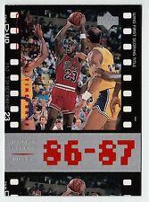 Michael Jordan 1998 Upper Deck Timeframe23  86-87 WINS FIRST SCORING Card