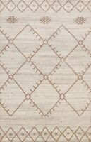 Modern Moroccan Oriental Geometric Tribal Area Rug Hand-knotted Home Decor 5'x7'