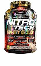5.5 Pound MuscleTech NitroTech Whey Gold Protein Powder, Cookies and Cream  NEW