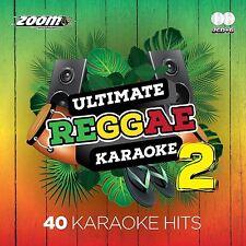 Zoom KARAOKE CDG Ultimate Reggae VOL 2 KARAOKE CDG 40 Top tracce su 2 Dischi