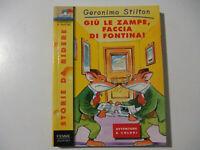 Geronimo Stilton Giù le zampe faccia di fontina N. 3 Piemme - LIBRO