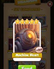 coin master cards Machine Heart 5X