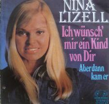 """7"""" 1976 RARE MINT- ! NINA LIZELL : Ich wünsch mir ein Kind von Dir"""