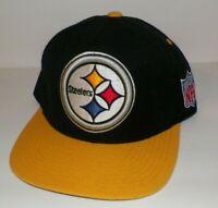 Men's Mitchell & Ness Vintage NFL Pittsburgh Steelers Hat Cap Snapback Wool