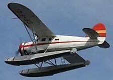 CCF Noorduyn Norseman Canada  Airplane Mahogany Kiln Dry Wood Model Small
