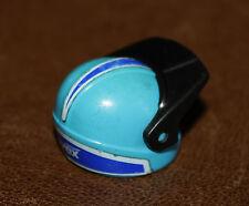Playmobil chapeau casque bleu Uvex pilote moto 3222 ref cc