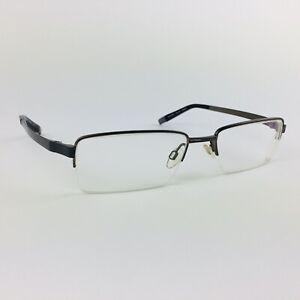 SPECSAVERS eyeglasses BROWN HALF RIMLESS glasses frame MOD: TITAN 289 25061475