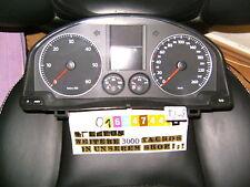 Indicateur combiné VW GOLF 5 1k0920853h COMPTEUR DE VITESSE groupe Horloge