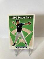 1993 TOPPS #98 DEREK JETER ROOKIE CARD RC NEW YORK YANKEES HOF 92 Draft Pick