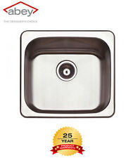 Abey The Leichardt 45 Litre Laundry Flushline Tub LT45 with OVERFLOW and Bypass