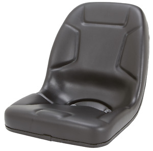 High Back Compact Tractor Seat for Kubota, Kumiai, Mahindra, Massey Ferguson