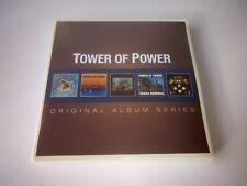 TOWER OF POWER - ORIGINAL ALBUM SERIES 5 CD SET NEW SEALED 2013 WARNER