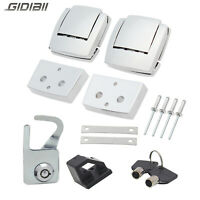 Tour Pack Latches Latch Body Catch Lock & Key Kit For Harley Touring FLHTCUI FLH