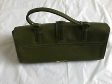 Moschino - GREEN - SMALL - Leather Handbag b6946f75ae
