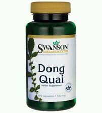 100% NATURAL Dong Quai Root Angelica Sinensis Female Ginseng 530mg 100 Capsules
