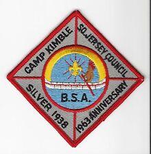 BOY SCOUT  CAMP KIMBLE  25TH ANNIV PP  1963   SOUTHERN NEW JERSEY CNCL