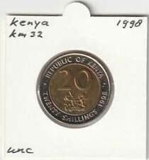 Kenya 20 shillings 1998 UNC - KM32 (ma224)