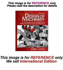 Design of Machinery by Robert Norton, 5th with DVD-ROM (International Edition)