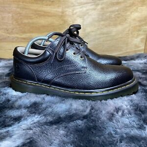 Dr. Martnes Mens AW004 Leather Lace Up Round Toe Brown Oxford Shoes Size 10