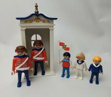 Playmobil Vintage Royal Guards With Children 5581 Set For 5300 Victorian Mansion