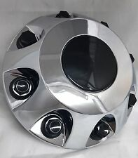 2011-2017 Silverado 3500 1-ton Dually FRONT Wheel Hub Center Cap CHROME
