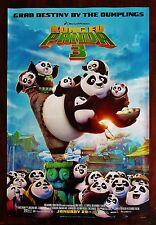 Kung Fu Panda 3 Movie Poster 2016 Jack Black Bryan Cranston 13 3/8 X 19 7/8