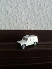Feuerwehr Fahrzeuge Weiss, Mercedes Benz von Wikking.ELW,1:87