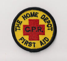 The Home Depot First Aid C.P.R. Employee Patch