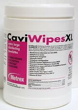 METREX XL Caviwipes Disinfectant Cleaner Cloth CASE OF 12 #13-1150 Cavi wipe