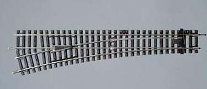 PIKO 55220 HO SCALE 1/87 LEFT SWITCH WL R9/239MM