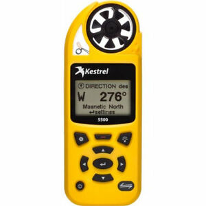 Kestrel 5500 Weather Meter (Supplied with Australian Tax Invoice)