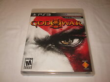 God of War III, 3 (Playstation PS3) Original Release Complete Nr Mint!