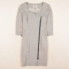 Hugo Boss Damen Kleid Dress Casual Gr.40 Alewa Gestreift Mehrfarbig 83712