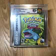 Pokemon Leaf Green Version Sealed 1st Print New GBA Game Boy VGA Graded 85+ NM+