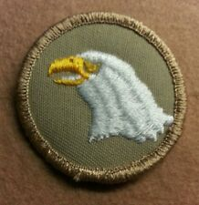BSA  PATROL MEDALLION PATCH - EAGLE (2) - 1989-2002  - PRE-OWNED   A00357