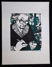 Barbara Alvarado (1942) Wood Engraved Colours Kansas City